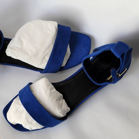 Phoebe Philo Céline Yves Klein Blue Sandals NIB 39